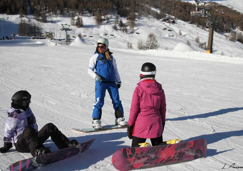 Group Snowboard